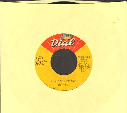 Tex, Joe - A Mother Prayer/I Gotcha - EX8/ - 45 rpm Records