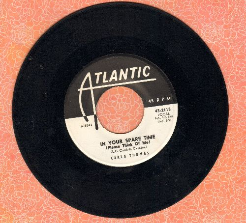 Thomas, Carla - In Your Spare Time (Please Think Of Me)/(Mama, Mama) Wish Me Good Luck (DJ advance pressing) - EX8/ - 45 rpm Records