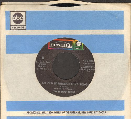Three Dog Night - An Old-Fashioned Love Song/Jam (MINT condition with company sleeve) - M10/ - 45 rpm Records