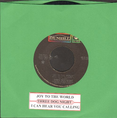 Three Dog Night - Joy To The World/I Can Hear You Calling (with juke box label) - VG7/ - 45 rpm Records