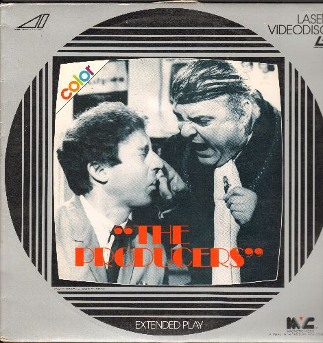 The Producers - The Producers - The 1967 Mel Brooks Classic starring Zero Mostel and Gene Wilder - This is a LASERDISC, NOT ANY OTHER KIND OF MEDIA! - NM9/EX8 - LaserDiscs