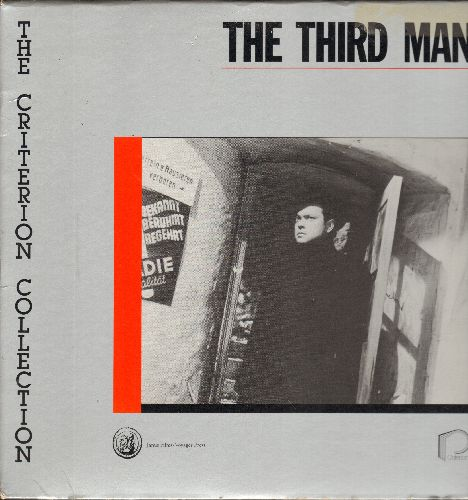 The Third Man - The Third Man -Criterion Collection LASERDISC version of the Classic Orson Welles Thriller (This is a  LASERDISC, not any other kind of media!) - NM9/NM9 - LaserDiscs