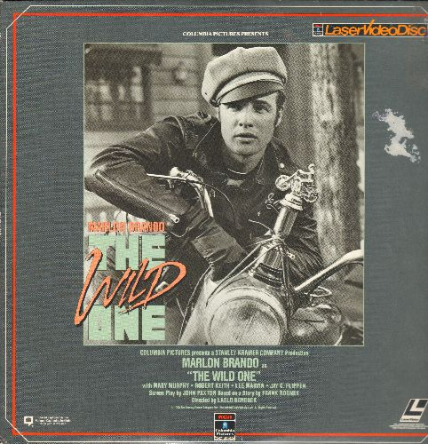 The Wild One - The Wild One - LASERDISC version of the Marlon Brando Classic (This is a LASERDISC, not any other kind of media!) - NM9/VG7 - LaserDiscs