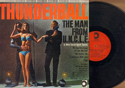 Jazz All-Stars - Thunderball & Other Secret Agent Themes: I Spy, Theme From The Man From U.N.C.L.E., Majorca Express (Vinyl STEREO LP record) - NM9/NM9 - LP Records