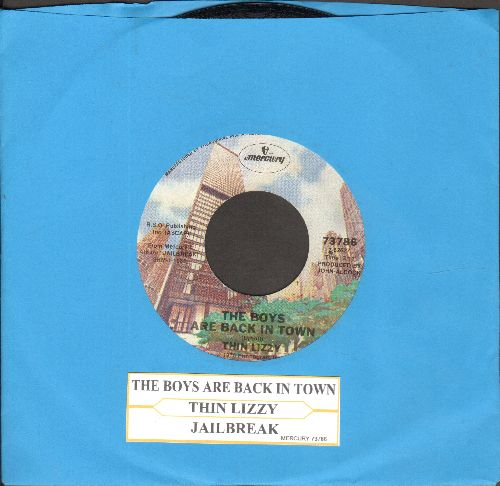 Thin Lizzy - The Boys Are Back In Town/Jailbreak (with juke box label) - NM9/ - 45 rpm Records