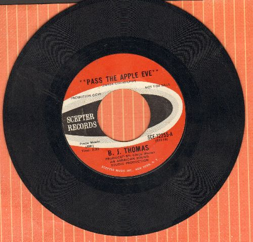 Thomas, B. J. - Pass The Apple, Eve/Fairy Tale Of Time - EX8/ - 45 rpm Records