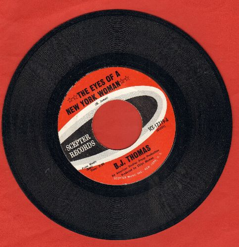 Thomas, B. J. - The Eyes Of A New York Woman/I May Never Get To Heaven - EX8/ - 45 rpm Records