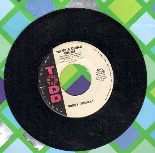 Thomas, Buddy - Have A Drink On Me/Learning To Forget - NM9/ - 45 rpm Records