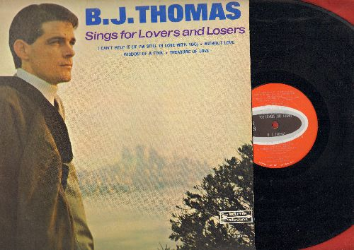 Thomas, B. J. - Sings For Lovers And Losers: Half As Much, Treasure Of Love, Wisdom Of A Fool, Miller's cave (Vinyl MONO LP record) - NM9/EX8 - LP Records