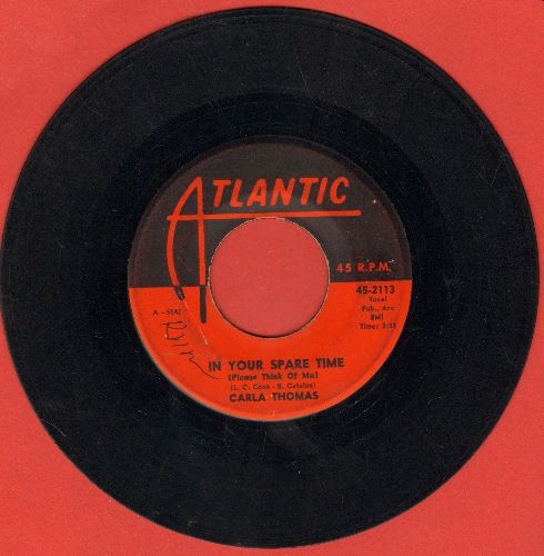 Thomas, Carla - In Your Spare Time (Please Think Of Me)/(Mama, Mama) Wish Me Good Luck  - VG6/ - 45 rpm Records
