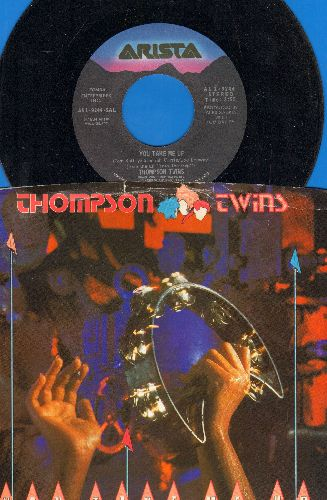 Thompson Twins - You Take Me Up/Passion Planet (with picture sleeve) - NM9/VG7 - 45 rpm Records