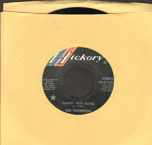 Thompson, Sue - Candy And Roses/A Full Time Job - NM9/ - 45 rpm Records