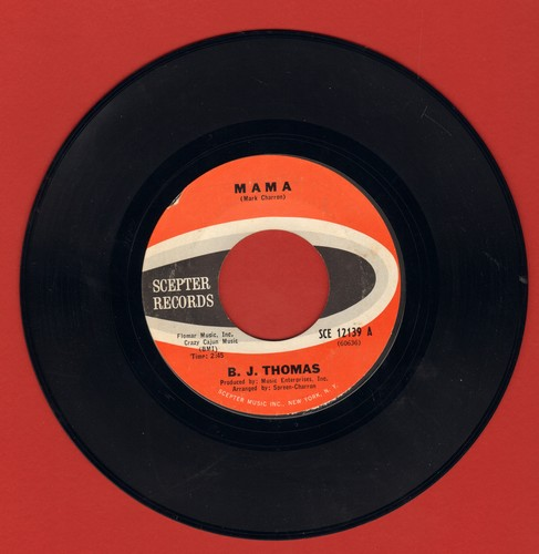 Thomas, B. J. - Mama/Wendy - NM9/ - 45 rpm Records