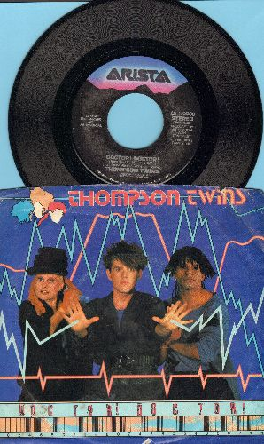 Thompson Twins - Doctor! Dosctor!/Nurse Shark (with picture sleeve) - NM9/VG7 - 45 rpm Records