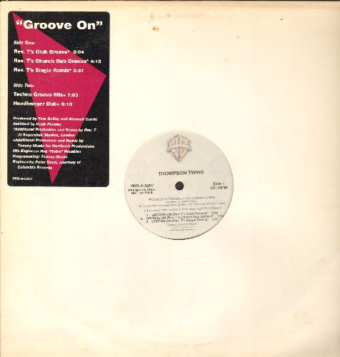 Thompson Twins - Groove On - 12 inch vinyl Maxi Single featuring 5 different Dance Club Version - NM9/ - Maxi Singles
