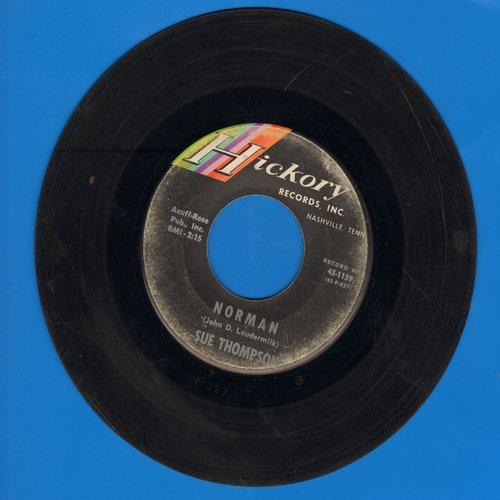 Thompson, Sue - Norman/Never Love Again  - VG7/ - 45 rpm Records
