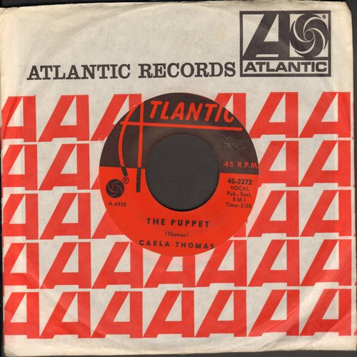 Thomas, Carla - The Puppet/How Do You Quit (with Atlantic company sleeve, wos) - EX8/ - 45 rpm Records