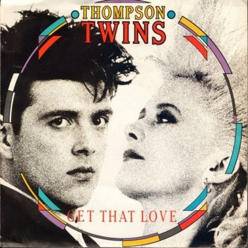 Thompson Twins - Get That Love/Perfect Day (with picture sleeve) - NM9/NM9 - 45 rpm Records