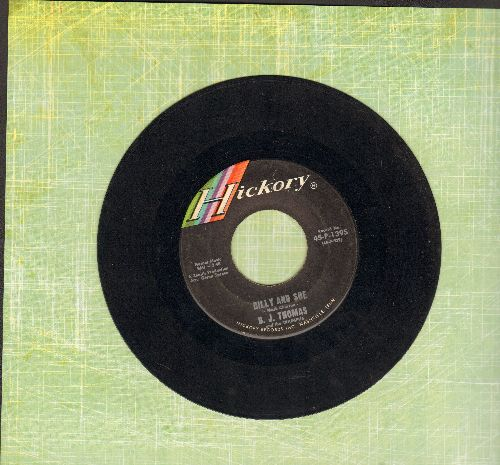 Thomas, B. J. - Billy And Sue (ULTRA-SENTIMENTAL Vietnam Era Love Ballad)/Never Tell  - EX8/ - 45 rpm Records