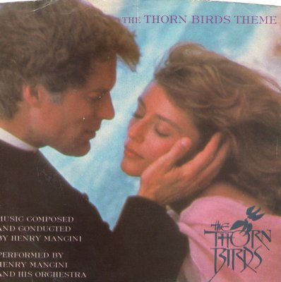 Mancini, Henry & His Orchestra - The Thorn Birds Theme/Luke And Maggie (with picture sleeve) - M10/EX8 - 45 rpm Records
