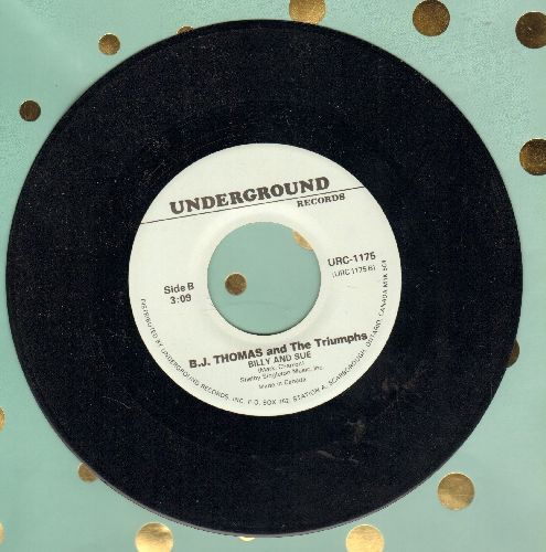 Thomas, B. J. - Billy And Sue/You're The Reason (by Bobby Edwards on flip-side) (double-hit re-issue) - NM9/ - 45 rpm Records