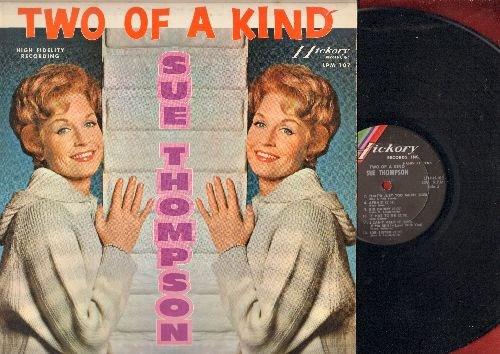 Thompson, Sue - Two Of A Kind: I Can't Stop Loving You, Mama Don't Cry At My Wedding, Big Daddy (vinyl MONO LP record) - EX8/EX8 - LP Records