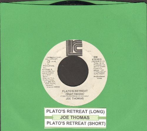 Thomas, Joe - Plato's Retreat (long and short version, with juke box label) - VG7/ - 45 rpm Records