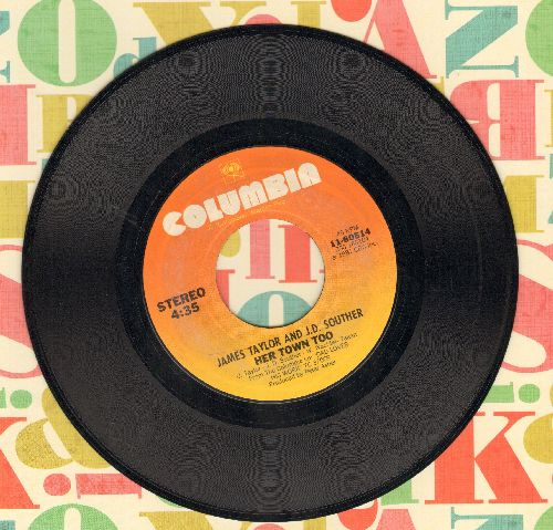 Taylor, James - Her Town Too/Believe It Or Not - VG7/ - 45 rpm Records