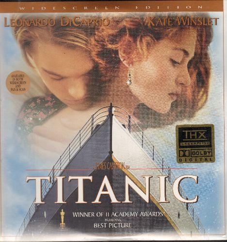 Titanic - Titanic - The Academy Award Winning Classic starring Leonardo DiCaprio and Kate Winslet on 2 LASER DISCS. SEALED, never opened! - SEALED/SEALED - LaserDiscs