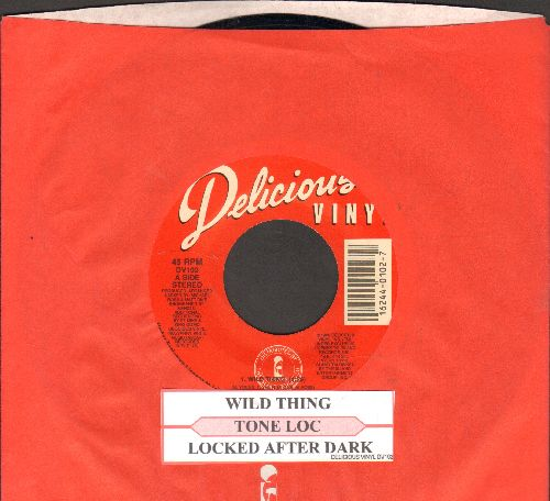Tone Loc - Wild Thing (RAP Version of the Troggs Classic)/Loc'ed After Dark (with juke box label and company sleeve) - EX8/ - 45 rpm Records