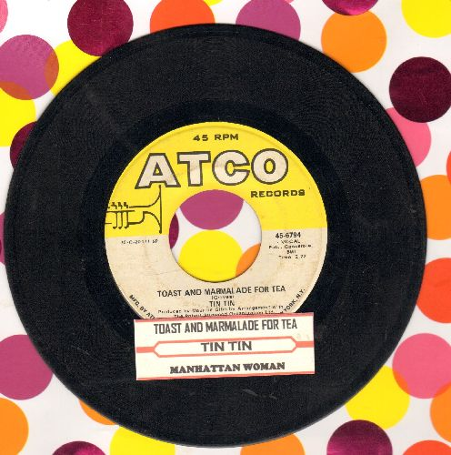 Tin Tin - Toast And Marmalade For Tea (VERY NICE early Bee Gees Sound!)/Manhattan Woman (with juke box label) - VG7/ - 45 rpm Records