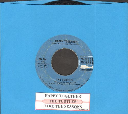 Turtles - Happy Together/Like The Seasons (with juke box label) - VG7/ - 45 rpm Records
