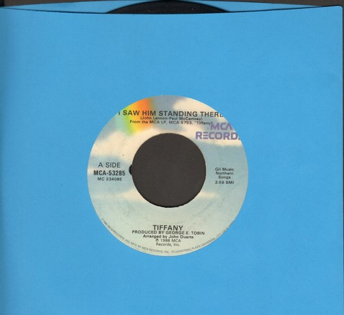 Tiffany - I Saw Him Standing There/Mr. Mambo - VG6/ - 45 rpm Records