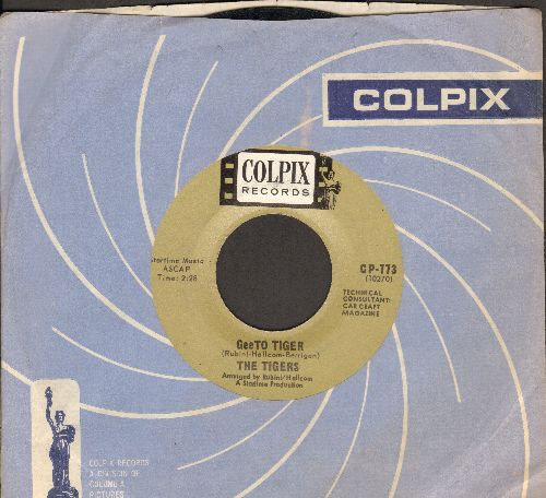Tigers - GeeTo Tiger/The GeeTo Prowl (with vintage Colpix company sleeve) - EX8/ - 45 rpm Records