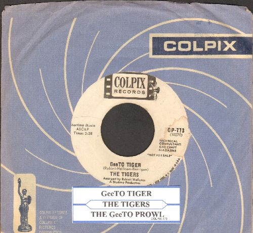Tigers - GeeTO Tiger/The GeeTO Prowl (DJ advance pressing with juke box label and vintage Colpix company sleeve) - VG7/ - 45 rpm Records