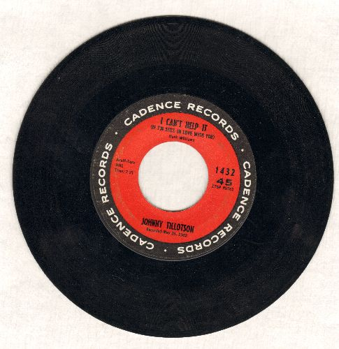 Tillotson, Johnny - I Can't Help It (If I'M Still In Love With You)/I'm So Lonesome I Could Cry - EX8/ - 45 rpm Records