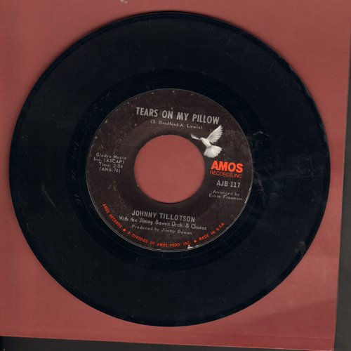 Tillotson, Johnny - Tears On My Pillow/Remember When - EX8/ - 45 rpm Records