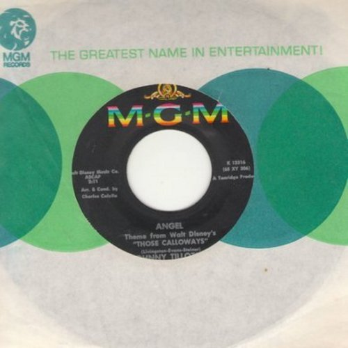 Tillotson, Johnny - Angel/Little Boy (with MGM company sleeve) - EX8/ - 45 rpm Records