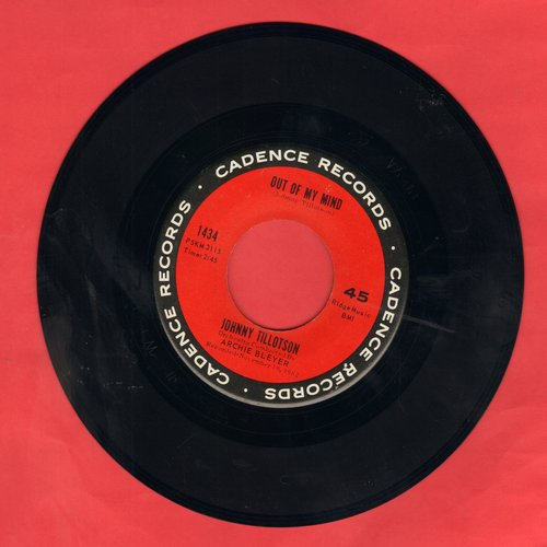 Tillotson, Johnny - Out Of My Mind/Empty Feelin' - EX8/ - 45 rpm Records