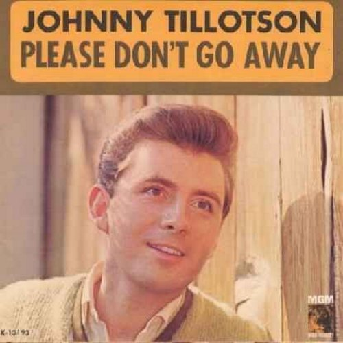 Tillotson, Johnny - Worried Guy/Please Don't Go Away (with picture sleeve) - EX8/VG7 - 45 rpm Records