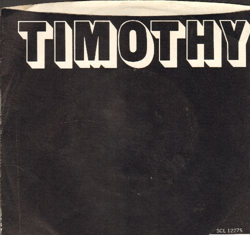 Buoys - Timothy/It Feels Good (with picture sleeve and juke box label) - EX8/EX8 - 45 rpm Records