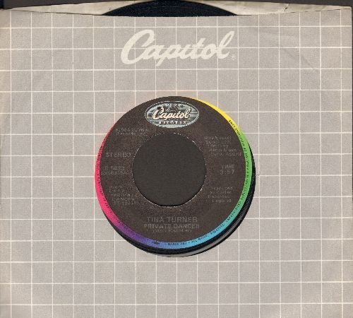 Turner, Tina - Private Dancer/Nutbush City Limits (with Capitol company sleeve) - EX8/ - 45 rpm Records
