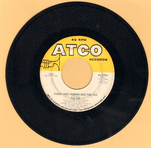 Tin Tin - Toast And Marmalade For Tea (VERY NICE early Bee Gees Sound!)/Manhattan Woman  - VG7/ - 45 rpm Records