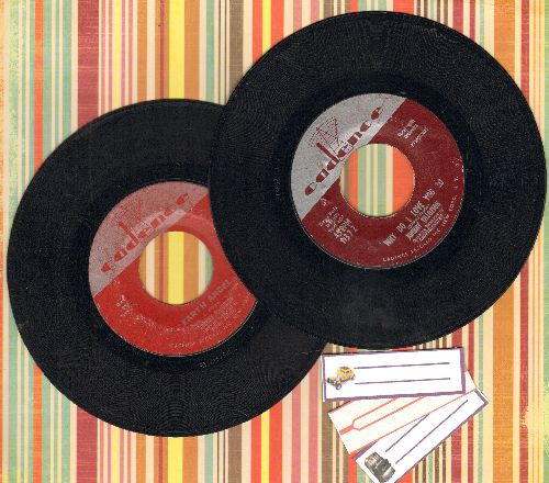 Tillotson, Johnny - 2 for 1 Special: Earth Angel/Why Do I Love You So (2 vintage first issue 45rpm records or the price of 1, shipped in plain white paper sleeves with 3 blank juke box labels) - EX8/ - 45 rpm Records