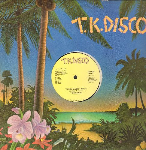 T-Connection - Disco Magic (Parts 1 + 2) (12 ich vinyl Maxi Single with company sleeve) - NM9/ - Maxi Singles