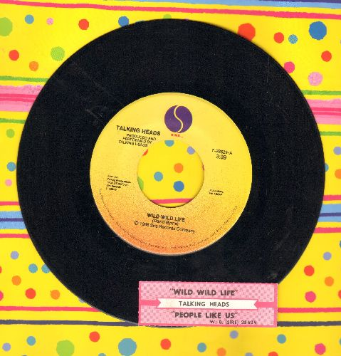 Talking Heads - Wild Wild Life/People Like Us (Movie Version) (with juke box label) - NM9/ - 45 rpm Records