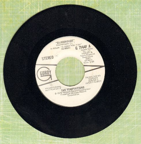Temptations - Glasshouse (double-hit re-issue with MONO and STEREO version) - NM9/ - 45 rpm Records