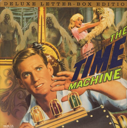 The Time Machine - The Time Machine - Deluxe Letterbox Format LASER DISC of the 1963 Science-Fiction Classic starring Rod Taylor - NM9/NM9 - Laser Discs