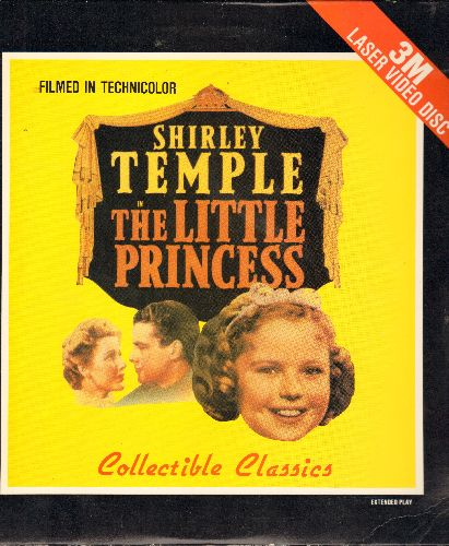 The Little Princess - The Little Princess - LASERDISC Version of the 1939 Technicolor Shirley Temple Family Classic (This is a LASERDISC, not any other kind of media!) - NM9/EX8 - LaserDiscs