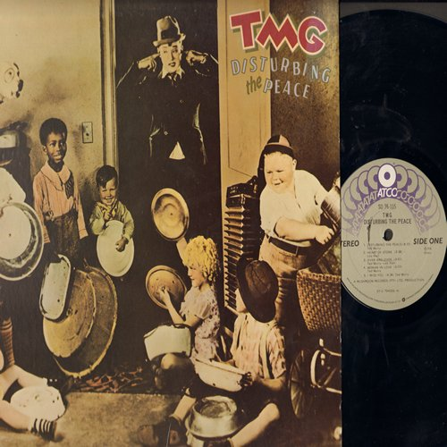 TMG - Disturbing The Peace: Heart Of Stone, Lazy Eyes, Set Me Free, Devil In You, Woman In Love (Vinyl STEREO LP record) - M10/EX8 - LP Records